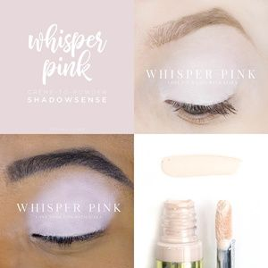 Whisper Pink SHADOW SENSE NWT